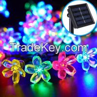 Flower Fairy Christmas Lights for Outdoor