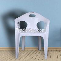 European Style Armchair Outdoor Indoor Plastic Chairs