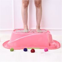High Quality PP Plastic Baby Bath Tub Children Plastic Bath Basin