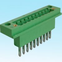 Pluggable male and female terminal block with 3.81mm 5mm 5.08mm 7.62mm pitch for pub mounting