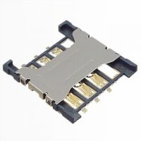 Nano micro sim card connector/socket/holder/slot for mobile phone