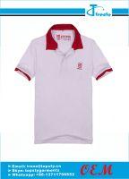 Customized cotton men's polo shirts