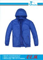 customized nylon men's windbreaker jacket