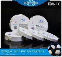 Ultra translucent Amann Girrbach OD89mm dental zirconia block for Anterior