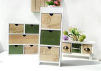 Hot Sales Wood Jewelry Makeup Organizer Cosmetic Sundries Storage drawer Household Decoration Desktop Storege Racks Shelf