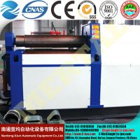 Mclw12CNC-50*3000 Four Roll Plate Rolling Machine with Ce Standard, Plate Bending Machine