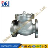 Stainless Steel Ansi 3 inch swing check valve parts, check valve types and applications Prices