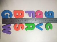 School teaching educational toys eva foam magnetic alphabet letters
