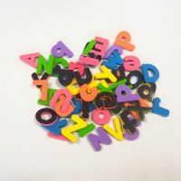 School teaching educational toys eva foam magnetic alphabet letters