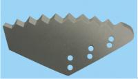 Cutter for vertical mixer truck