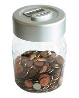Digital coin jar