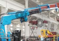 OUCO Marine/Offshore Small Provision Crane Electric Hydraulic Crane Machine