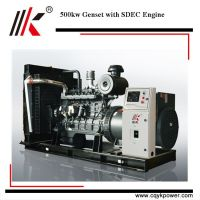 Cheap 500kw water cooled power motor engine generator diesel kva with price