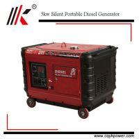 High quality small portable 5000watt silent diesel generator