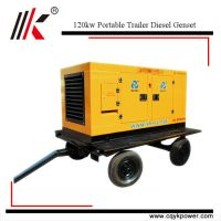 Cheap low fuel consumption portable 150kva diesel generator