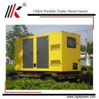 Cheap low fuel consumption portable 150kva diesel generator