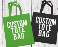 Cotton Shopping Bag/ Canvas Tote Bag/ Grocery Bag/ Calico Bag/ Promotional Bag