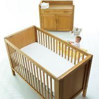 The Little Green Sheep Natural Mattress For Baby Nursery