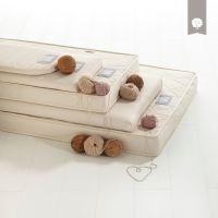 The Little Green Sheep Natural Twist Cot Bed Mattress