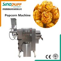 Industrial Caramel Popcorn Production Line Machine