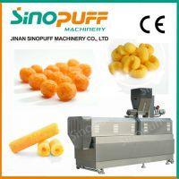 Corn Puff Snack Extruder Puff Ball Machine