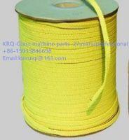 12*4&5.5*5.5 yellow kevlar rope/ fiber rope for tempering furance
