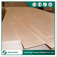 Furniture Grade Okoume Face/Back Commercial Plywood