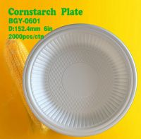 CPLA Biodegradable Disposable Compostable Tableware/Cutlery with Cornstarch Plates