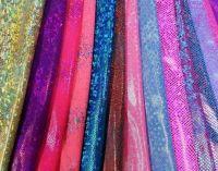 """Nylon Lycra Hologram Printed Knit 58/60"""""""