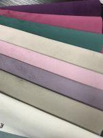 Poly velvetten solid bonded woven 150cm for Sofa fabric
