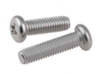 304 stainless steel UNC cross recessed pan head screws 8#-32