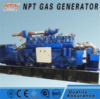 Silent 400 kw natural gas generator