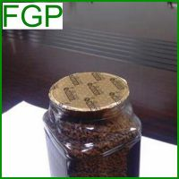 Die Cut Aluminum Foil Induction Cap Seal Liner&Wad for Coffee Glass Jar in China with Logo Printing