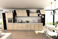 Norway Forest Series-Kitchen Cabinet-Melamine Kitchen Cabinet