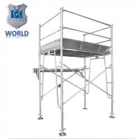 Frame scaffolding system hot dip galvanized Pre-galvanized scaffolding with walk board brace
