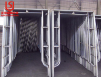 Factory directly sale Galvanized Construction Main Frame Scaffolding Painted Made In China