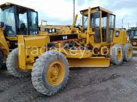 Used CAT140H Motor Grader