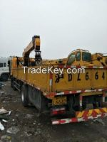 CAMC 10 Ton Truck mounted Crane