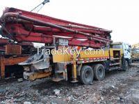 Used Putzmeister/Sany Concrete Pump/Truck Mounted Concrete Pump