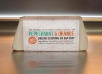 Peppermint & Orange Organic Essential Oil Bar Soap