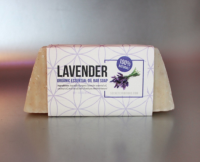 Lavender Organic Essential Oil Bar Soap