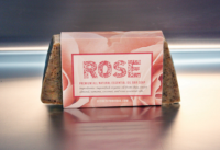 Rose Organic Essential Oil Bar Soap