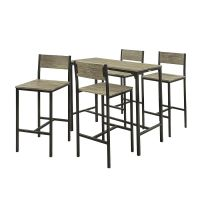 5pcs bar table set