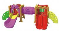 factory price indoor plastic slide