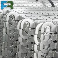 China manufacture Tianjin scaffolding perforted standard galvanized steel plank with hook