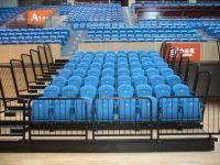 TribunesTelescopic Retractable Grandstand Seating