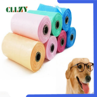 Multicolor Dog Poop Bags Refill Rolls