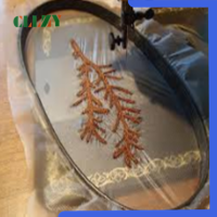 Quick dissolving water soluble PVA plastic film for embroidery backing