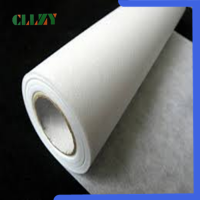 Hot water soluble nonwoven fabric for embroidery backing