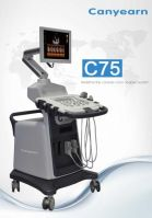 Canyearn C75 Full Digital Trolley Ultrasonic Diagnostic System Color Doppler Ultrasound Scanner